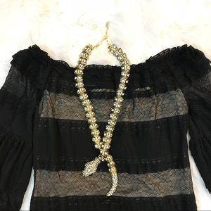 RACHAEL RACHAEL ROY Black Lace Dress